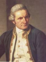 Captain James Cook portrait